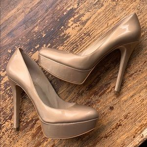 Joan & David shoes heels platform special occasion